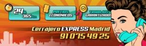 Cerrajero Express Madrid